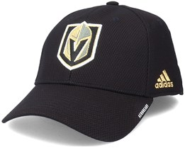 Vegas Golden Knights Coach Structured Black Flexfit - Adidas