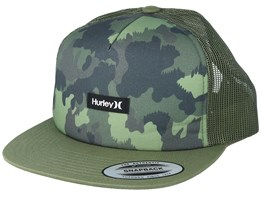 Mixtape Camo/Green Trucker - Hurley