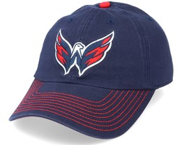 Washington Capitals Fan Unstructured Navy Adjustable - Fanatics