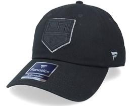 Los Angeles Kings Primary Logo Black On Black Dad Cap - Fanatics