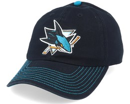 San Jose Sharks Fan Unstructured Black Adjustable - Fanatics