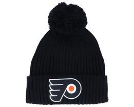 Philadelphia Flyers Value Core Beanie Black Pom - Fanatics