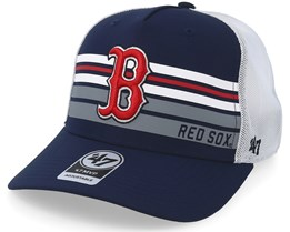 Boston Red Sox Altitude 47 Mvp Navy/White Trucker - 47 Brand