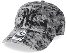 New York Yankees Phalanx 47 Clean Up Digital Grey Camo Adjustable - 47 Brand