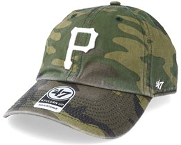 Pittsburgh Pirates 47 Clean Up Camo/White Adjustable - 47 Brand