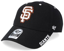San Francisco Giants Defrost 47 Mvp Black/White/Orange Adjustable - 47 Brand