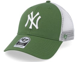 61f1aed05d5 New York Yankees Tiffany Flagship 47 Mvp Mesh Fatigue Green Trucker - 47  Brand