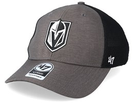 Vegas Golden Knights Grim 47 Mvp Mesh Dark Grey/Black Adjustable - 47 Brand
