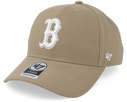 Boston Red Sox 47 Mvp Khaki/White Adjustable - 47 Brand