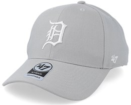 Detroit Tigers 47 Mvp Steel Grey/White Adjustable - 47 Brand