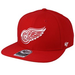 b7fb00cd 47 Brand Detroit Red Wings No Shot 47 Captain Red Snapback - 47 Brand AU$  41.99