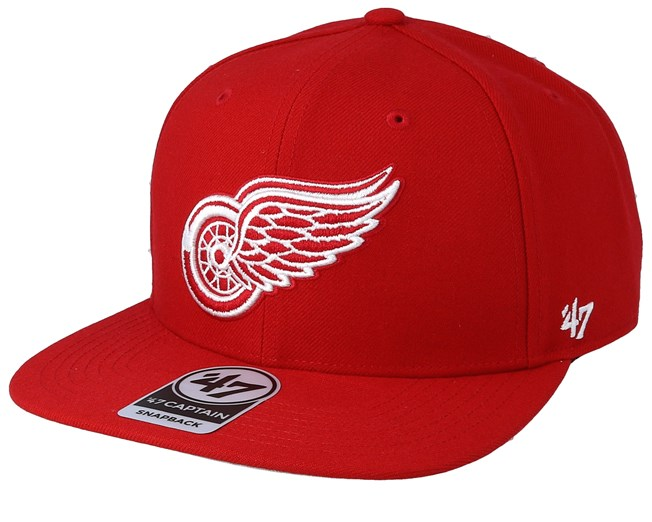7ff233ebce2 Detroit Red Wings No Shot 47 Captain Red Snapback - 47 Brand caps ...