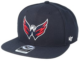Washington Capitals No Shot 47 Captain Navy Snapback - 47 Brand
