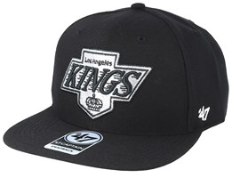 Los Angeles Kings Wool Mvp 47 Vintage Black Snapback - 47 Brand