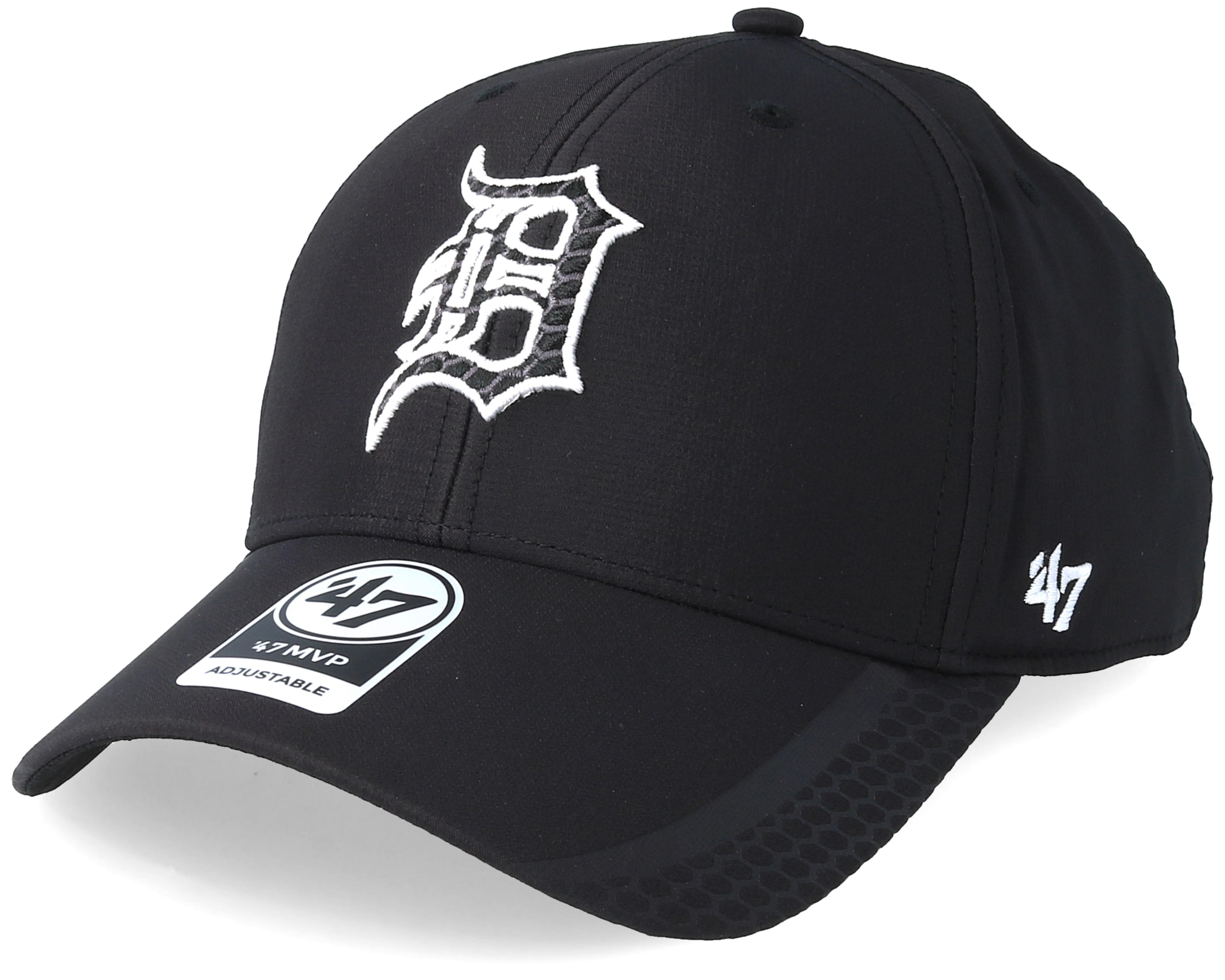 60a9f834b Detroit Tigers Osmosis 47 Mvp Black Adjustable - 47 Brand