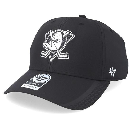 2d92995ef403f Anaheim Ducks Osmosis 47 Mvp Black White Adjustable - 47 Brand cap -  Hatstore.co.in