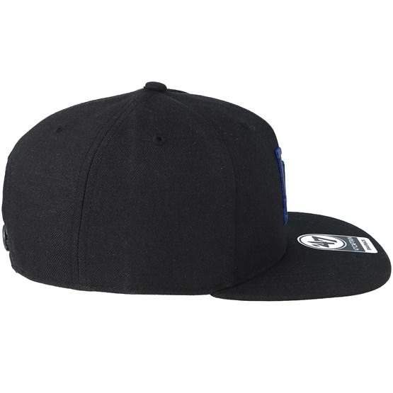 Los Angeles Dodgers Iridescent 47 Captain Black Snapback - 47 Brand -  casquette  5c5e8ff08e6