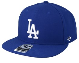 Los Angeles Dodgers No Shot 47 Captain Royal Snapback - 47 Brand