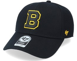 Boston Bruins Mvp Black/Yellow Adjustable - 47 Brand