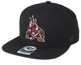 Arizona Coyotes No Shot 47 Captain Black Snapback - 47 Brand