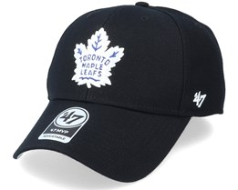 Toronto Maple Leafs Mvp Black/White Adjustable - 47 Brand