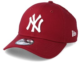 newest ec853 70268 New York Yankees Basic 9Forty Cardinal Red Adjustable - New Era