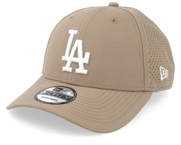 Los Angeles Dodgers Poly Perf 9Forty Khaki Adjustable - New Era