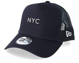 NYC Seasonal Navy Trucker - New Era