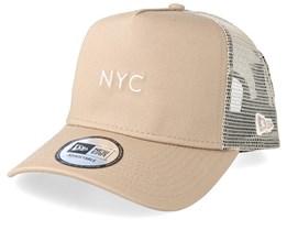 NYC Seasonal Camel Trucker - New era