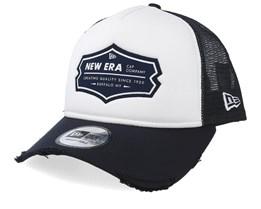 NE Patch White/Navy Trucker - New Era