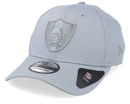 Oakland Raiders Team Tonal 39Thirty Grey Flexfit - New Era