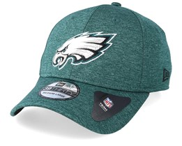 Philadelphia Eagles Shadow Tech 39Thirty Green Flexfit - New Era