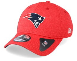 New England Patriots Shadow Tech 39Thirty Red Flexfit - New Era