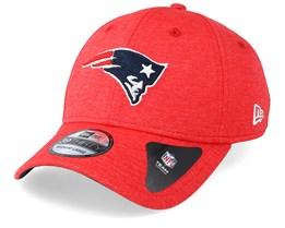 promo code 97334 6536e New England Patriots Shadow Tech 39Thirty Red Flexfit - New Era