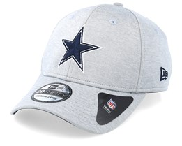 07bd5d837 Dallas Cowboys Shadow Tech 39Thirty Grey Flexfit - New Era
