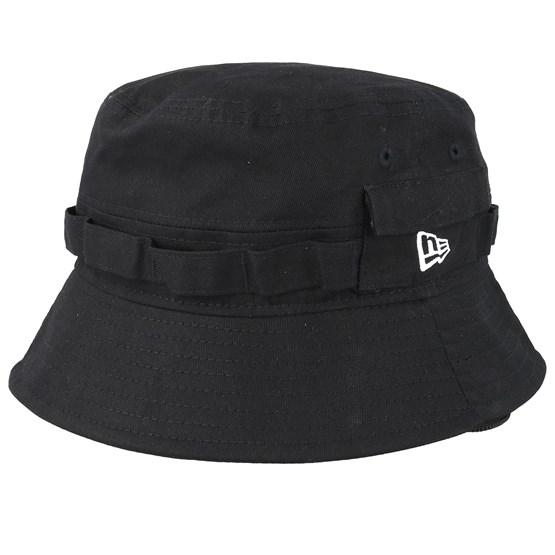 Hatt Explorer Black Bucket - New Era - Svart Bucket