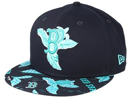 Boston Red Sox Desert Island 9Fifty Black/Mint Snapback - New Era