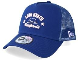Long Beach California Blue Trucker - New Era