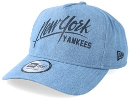 New York Yankees Denim A Frame Sky Adjustable - New Era
