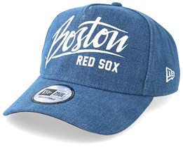 Boston Red Sox Denim A Frame Blue Adjustable - New Era