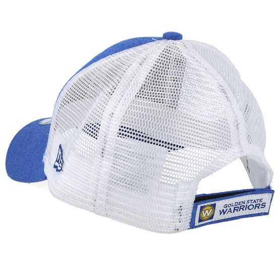 newest 10d19 a3ddf Kids Golden State Warriors Summer League 9Forty Royal White Trucker - New  Era caps   Hatstore.co.uk