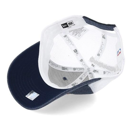 brand new ec93a f7751 Kids Cleveland Cavaliers Summer League 9Forty Navy White Trucker - New Era  caps - Hatstorecanada.com