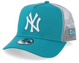 Kids New York Yankees League Essential Teal/White Trucker - New Era
