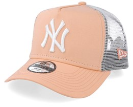 Kids New York Yankees League Essential Peach/White Trucker - New Era