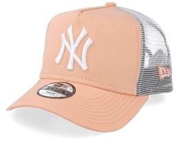 Kids New York Yankees League Essential Peach/White Trucker - New Era