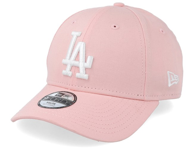 6b8b52f8 Kids Los Angeles Dodgers League Essential 9Forty Pink/White ...