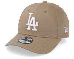 Kids Los Angeles Dodgers League Essential 9Forty Camel/White Adjustable - New Era