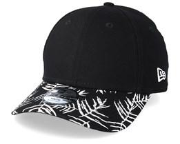 Kids Palm Print 9Forty Black Adjustable - New Era