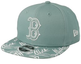 Boston Red Sox Kids Palm Print 9Fifty Mint Snapback - New Era