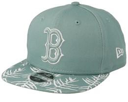 Boston Red Sox Kids Palm Print 9Fifty Mint Snapback - New Era